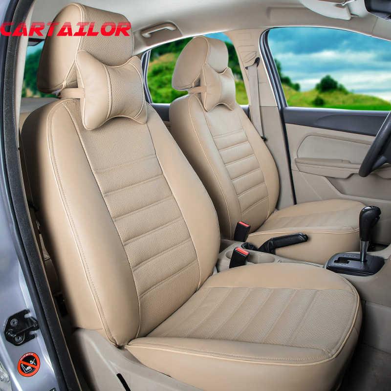 CARTAILOR การป้องกันรถสำหรับ BMW 5 series GT ชุดเบาะหนังสีดำสำหรับรถยนต์ภายในอุปกรณ์เสริม