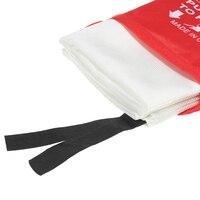 1 шт. 1,5 м x 1,5 м огненное одеяло из стекловолокна огнестойкая аварийная противопожарная защита укрытие Защитная крышка аварийное одеяло