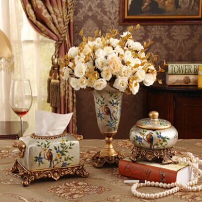 christmas decorations for home fashion three piece set rustic vase decoration home decoration decorative vase wedding - Christmas Vase Decorations