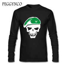 012e59bf86ff Skull Hat Funny Autumn T Shirt Tshirts Teen Long Sleeve Tshirt women O Neck  Cotton T