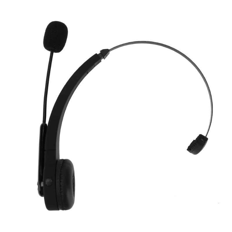 Wireless Bluetooth Gamer Headset Mono Ear Video Games Headphone Earpiece Game Headphones Black with Microphone for PS3 philips shg7210 professional game headphones with microphone wire control headphone for xiaomi mp3 official verification