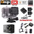 Free shipping!Gitup Git2 Pro 2K Sports Action Camera+Charger Battery Kit+Car Charger+Bracket