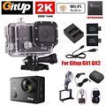 Frete grátis! Gitup Git2 Pro 2 K Kit de Esportes de Ação Da Câmera + Carregador de Bateria + Carregador de Carro + Suporte