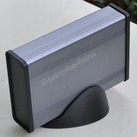 Aluminum Project Box Enclousure Case With Base 3 78 X 1 3 X 5 51
