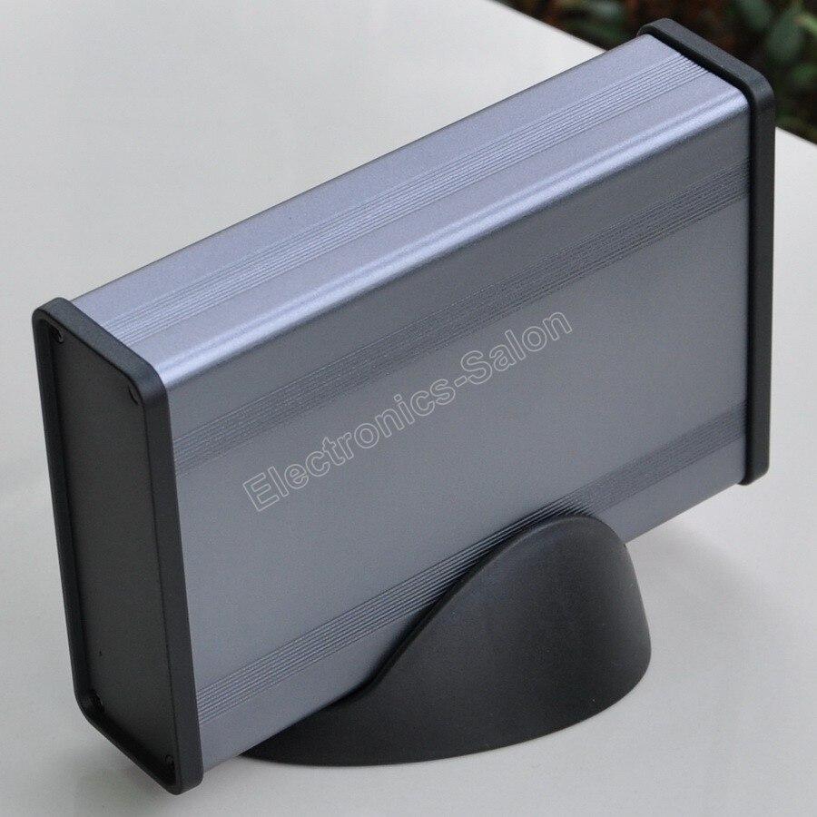 Aluminum Project Box Enclousure Case With Base, 3.78