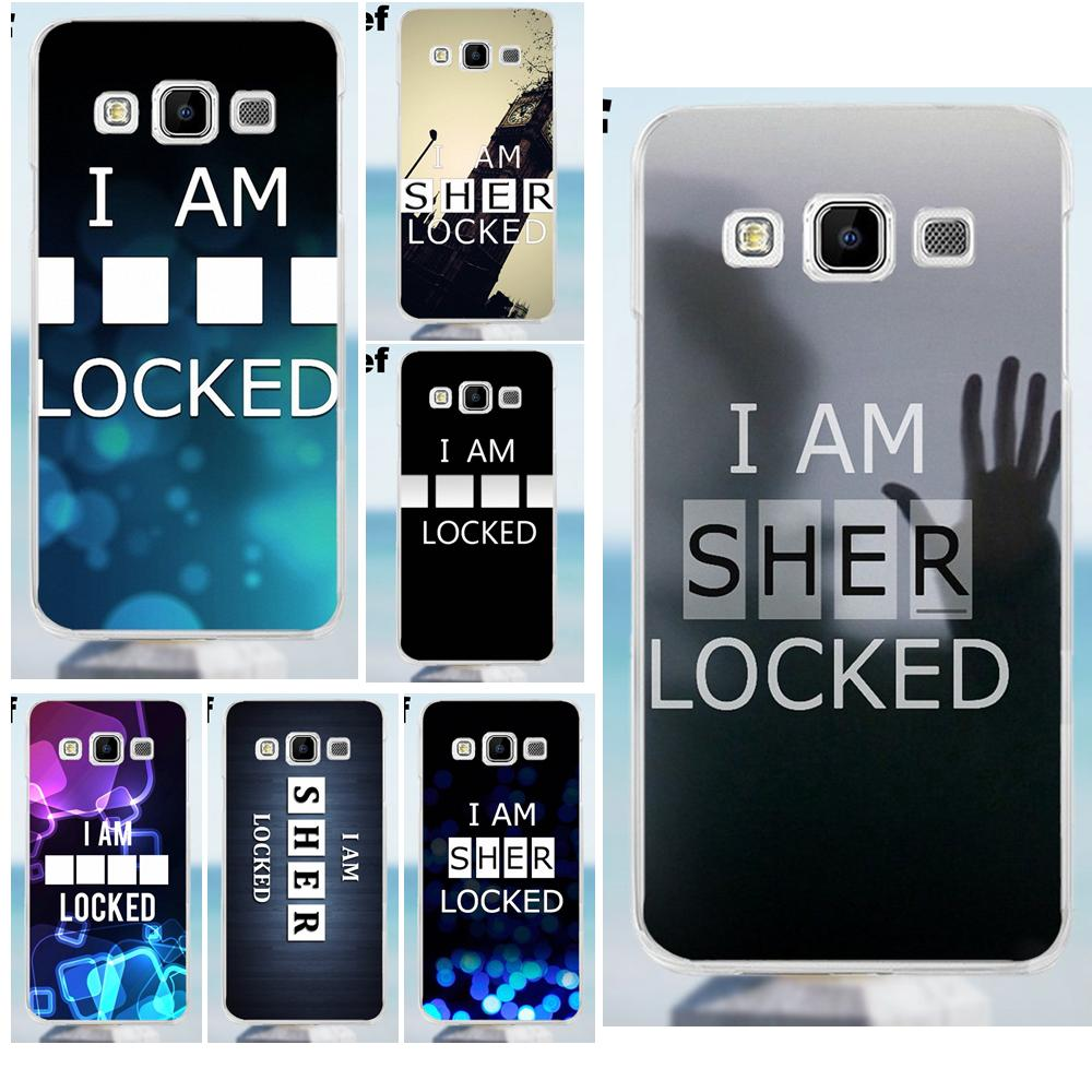 Us 199 Suef I Am Sherlocked Wallpaper For Galaxy Alpha Core Prime Note 2 3 4 5 S3 S4 S5 S6 S7 S8 Mini Edge Plus Soft Cases Cover In Half Wrapped