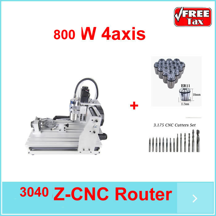 No tax in EU! stone grinding machine cnc router 6040 z-s80 4axis 1.5KW spindle lathe to metal stone wood pcb.. купить недорого в Москве