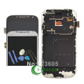 For Samsung 9500 9505 For Galaxy S4 LCD Display Touch Screen Digitizer Assembly With Frame Replacement White/Black/Blue +Tools