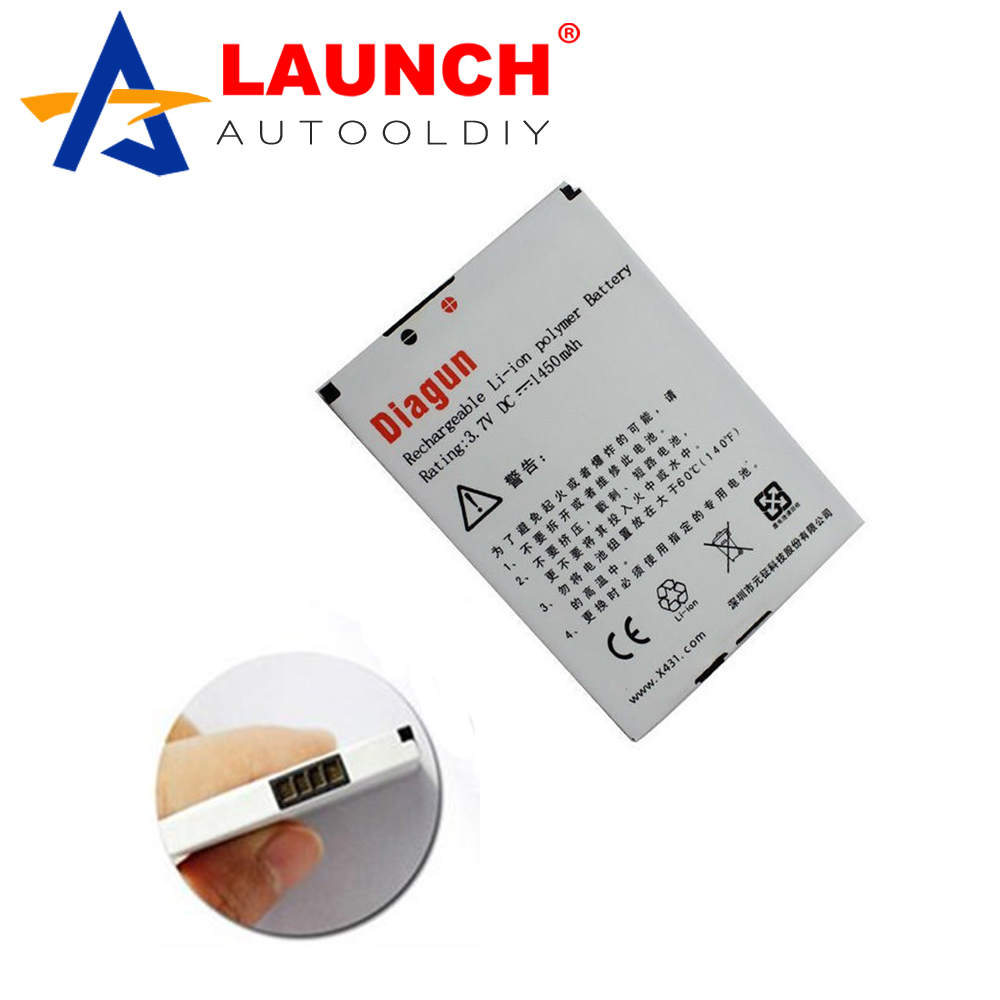 2016 100% Original Stable Performance Lowest Price Launch X431 Diagun Spare Part Launch X431 Diagun Battery Free Shipping