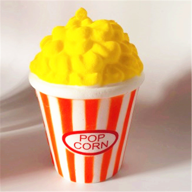 Scuishy Squishy Scented Cute Fairytale Dreamy Quishy Simulation Popcorn Cross-border For Slow Rebound Decompression Vent Toys