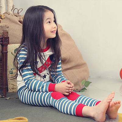 Kids Pajamas Clothing Sets Baby Girl Long Sleeve T Shirt+casual Pants Suit Children Underwear Girl Sleep Wear Christmas Pajamas