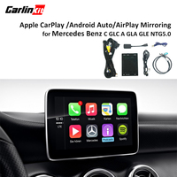 Мультимедиа смарт автомобиля модернизации с Apple Carplay Android автоматическая коробка для Mercedes NTG5 C класса W205 GLC W253 2015 2017 iOS AirPlay