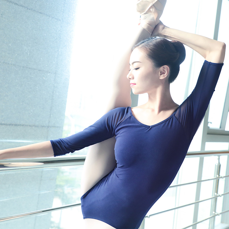 Sexy Dance Bodysuit Women Ballerina Dancing Ballet Dancewear Gymnastics Leotard Adults Girls Ballet Costumes