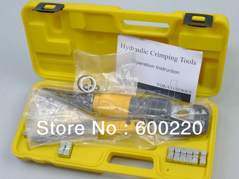 Hydraulic Crimping Tool YQK-70 4-70mm2 hydraulic cable lug crimping tool set hydraulic knockout tool hydraulic hole macking tool hydraulic punch tool syk 15 with the die range from 63mm to 114mm