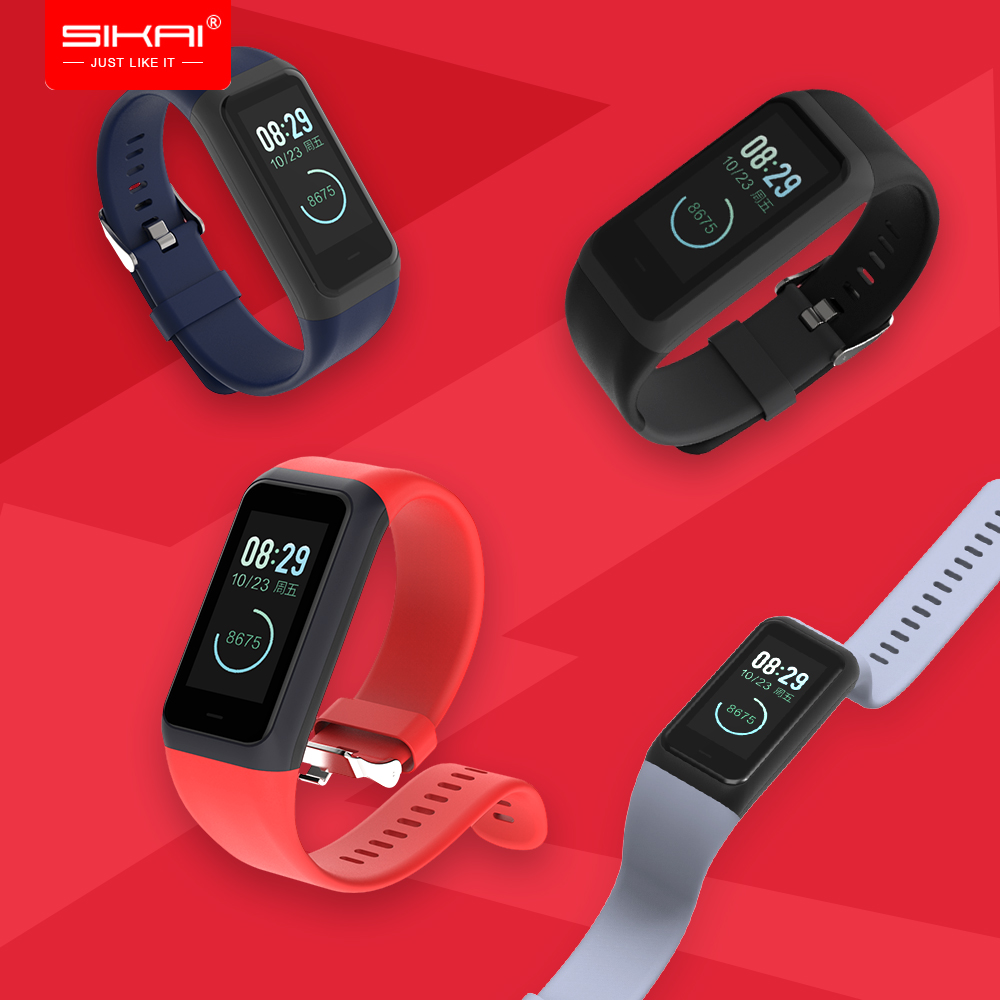 SIKAI silicone loop strap for <font><b>Amazfit</b></font> <font><b>Cor</b></font> <font><b>2</b></font> Wrist Strap Replaced Midong bracelet <font><b>Band</b></font> for <font><b>Xiaomi</b></font> <font><b>Huami</b></font> Amazift A1712 Wristband image