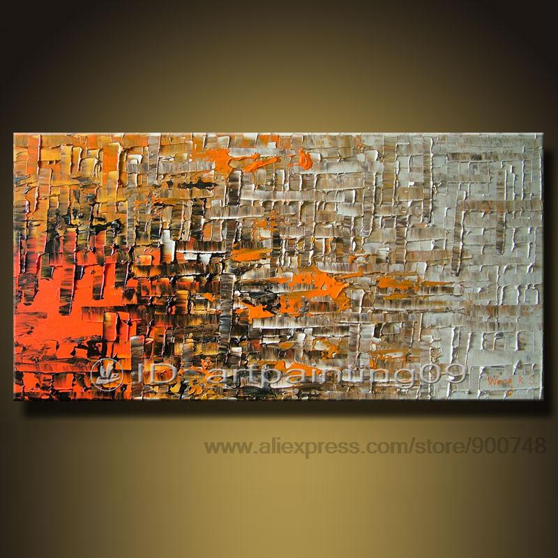 home decor canvas art cheap abstract wall decor bedroom wall pictures knife oil painting free shipping - Cheap Canvas Wall Art