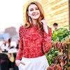 2018 New Spring Shirt Women S Fashion Slim Long Sleeve Printed Chiffon Shirts Ladies Blouses Shirts
