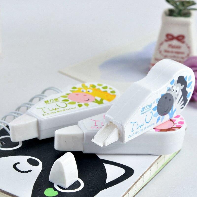 Cute Cartoon Decorative Correction Tape Kawaii Corrector For School Stationery School Supplies Papeleria Material Escolar