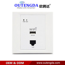 OUTENGDA WPL6003 White WiFi Network Socket 86 Wall Wi-Fi Wireless AP Router USB in Wall Access Point