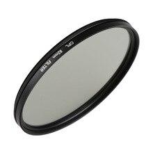 Камера фильтр объектива 37/40. 5/43/46/49/52/55/58/62/67/72/77/82 мм двойной поляризационный фильтр CPL для цифровой зеркальной камеры Canon Nikon sony Olympus Fujifilm