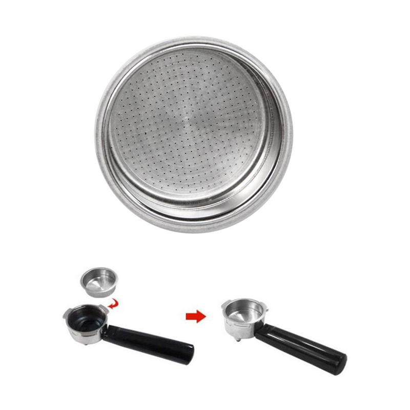 TTLIFE Stainless Steel Porous Coffee Filters Bowl Basket For Espresso/Machine Coffee Maker Part High Quality Tea Filter Basket