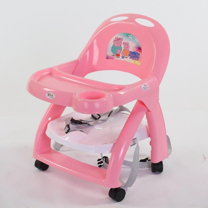 Chaises hautes multifonctions bébé dinant la chaise Portable bébé chaise enfants Table de riz et chaise chaises pour enfants en bas âge