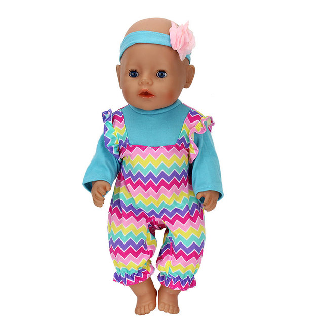 3db11dbf1 4 Style Choose Suit Doll clothes Wear for 43cm baby born zapf Doll ...
