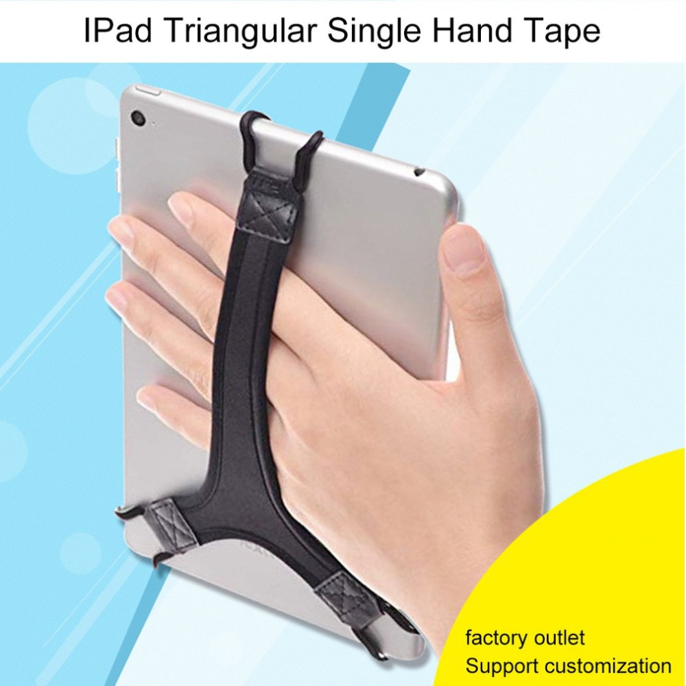 Mobile Phone Holder One-hand Operator Tablet One-hand Operation Strap Triangle Fixed Flat Strap Mobile Phone Accessories