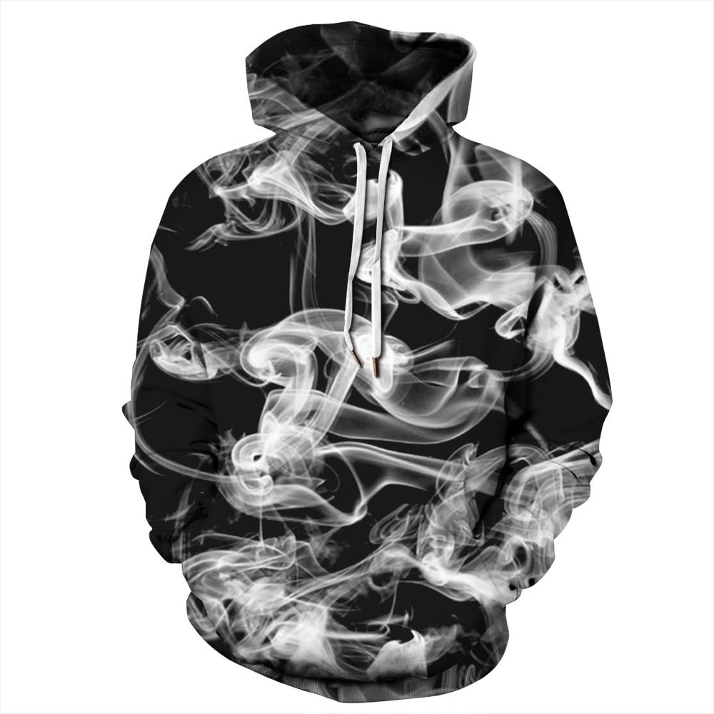 Étoiles brouillard impression numérique 2019 explosion modèles sport grande taille à capuche couples porter des uniformes de baseball sweat shirt - 3