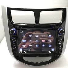 BYNCG 2 din dvd-плеер автомобиля для hyundai Solaris акцент Verna i25 с радио gps навигации Bluetooth USB карта камера