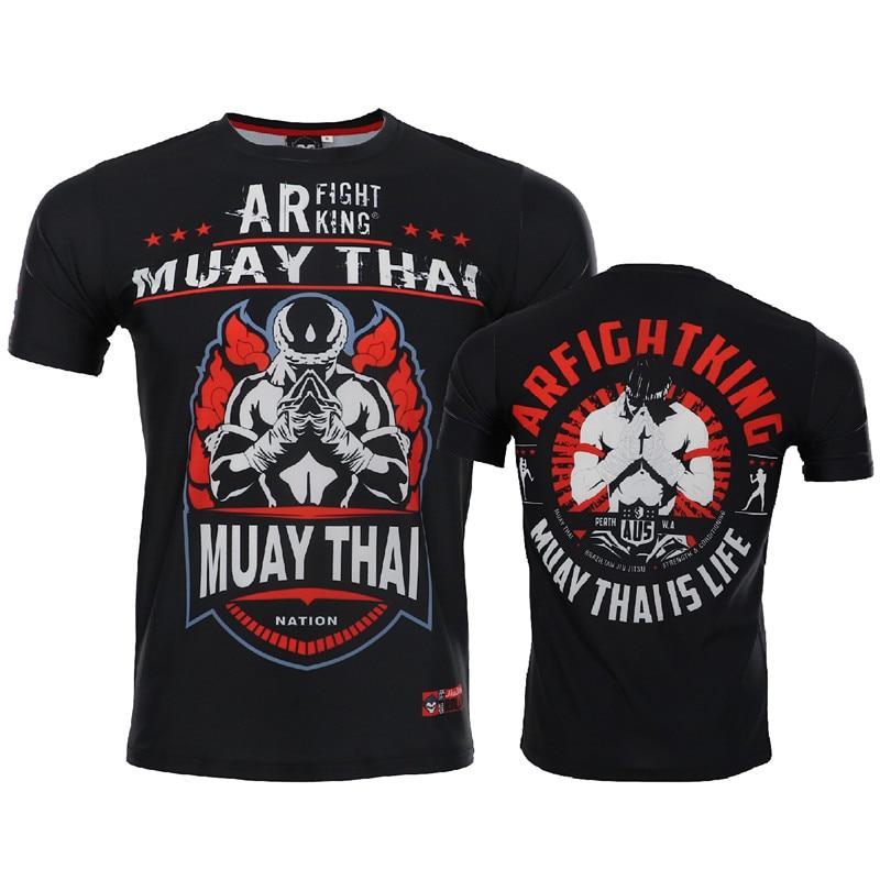 ROLLHO MMA Clothing Compression Shirt Gym Rashguard FitnessT Shirt Men Skin Tight Weight Lifting Muay Thai Tee Shirt