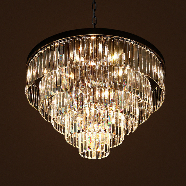 220 V 110 V Crystal Hanglampen Slaapkamer Lampen E14 Luster Licht ...