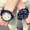 Men Sport Watches Fashion Casual Student Watch Leather Quartz Wristwatch Male Clock Big Dial Hour Men watch Relogio Masculino
