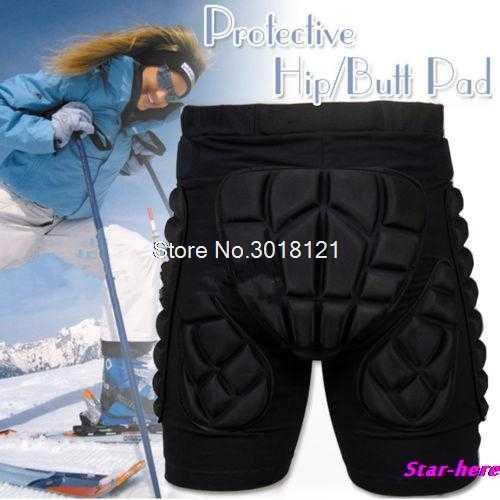 e49c5fea4fc6 SizeXS-3XL Protective Gear Hip Padded Shorts Skiing Skating Snowboard  Protection Drop ship
