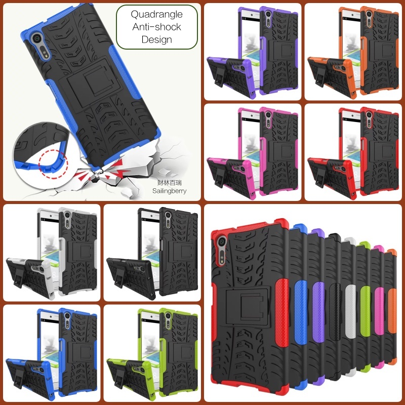 Anti-shock Cover for SONY Mobile Suitable for XZ with Stand
