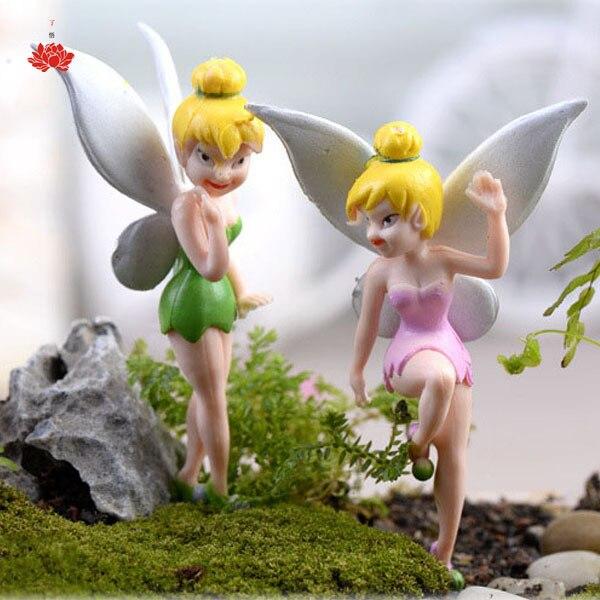 Retail Tinker Bell Dolls Flying Flower Fairy Mini Tinkerbell Doll