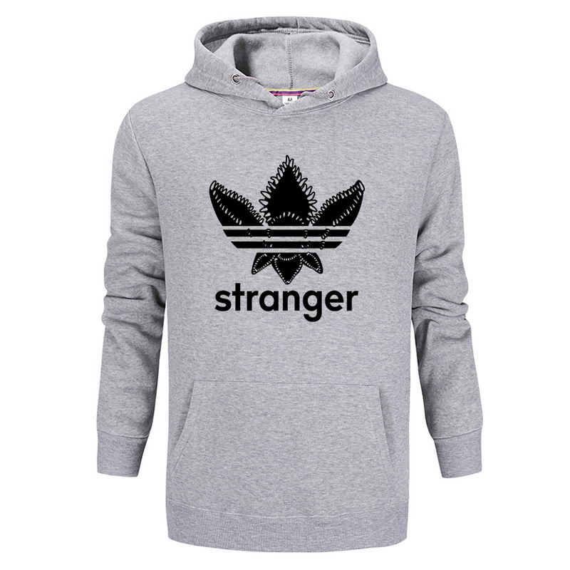 STRANGER THINGS Eleven Hoodie Chomper Monster Badge Hoody Sweatshirt Men Women Femme Montauk Jumper Strange DEMOGORGON Pullover