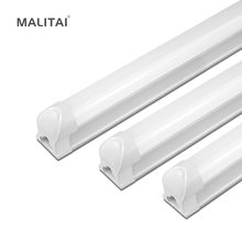 T8 LED light Bulb 8W 12W T8 LED lamp Bar Tube 220V-240V 300mm(1FT) 600mm(2FT) Replace Fluorescent Tube Cabinet Kitchen lighting(China)