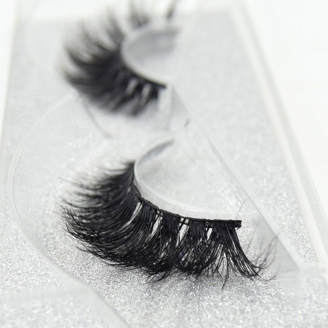 Visofree Eyelashes 3D Mink Lashes High Volume Handmade Mink False Eyelashes Thick Full Strip Lashes Cruelty Free cilios posticos 4