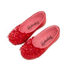 Zapatos de los niños embroma las zapatillas de deporte zapatos de un solo princesa de las muchachas de flores zapatos planos caliente-venta sandalias de las muchachas