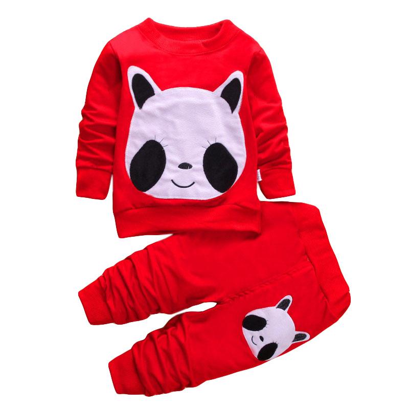 LZH Children Clothes 17 Autumn Winter Girls Clothes Set T-shirt+Pant 2pcs Outfits Kids Boys Sport Suit For Girls Clothing Sets 27