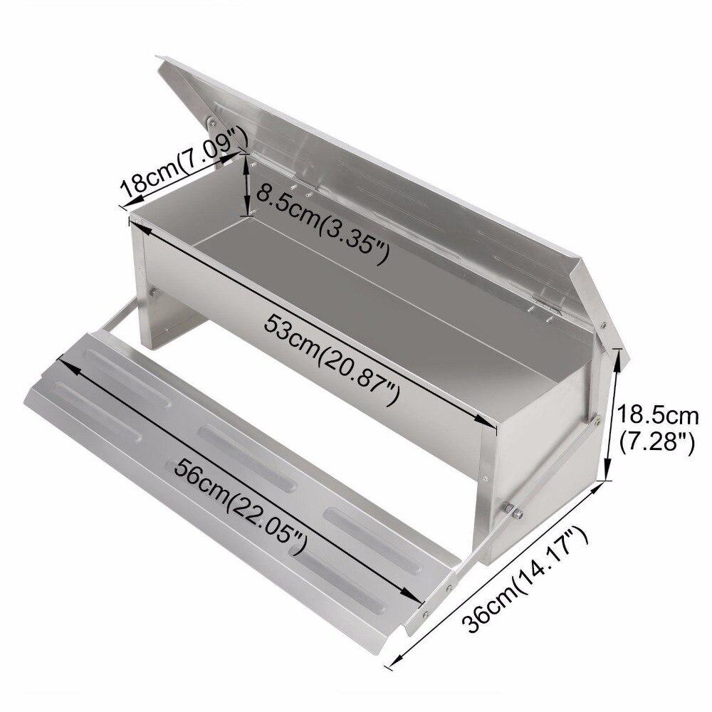 4 7kgs Automatic Feeder Treadle Self Open Aluminium