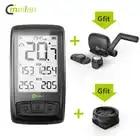 Velocímetro inalámbrico de bicicleta Meilan M4 y S1 luces traseras tacómetro Monitor de ritmo cardíaco Sensor de velocidad de cadencia cronómetro impermeable - 1