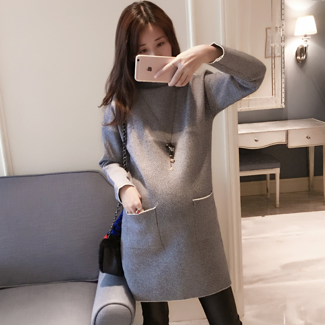 Pregnant Designer Clothes | Winter Pregnant Women Clothes Designer Maternity Dresses Fashion