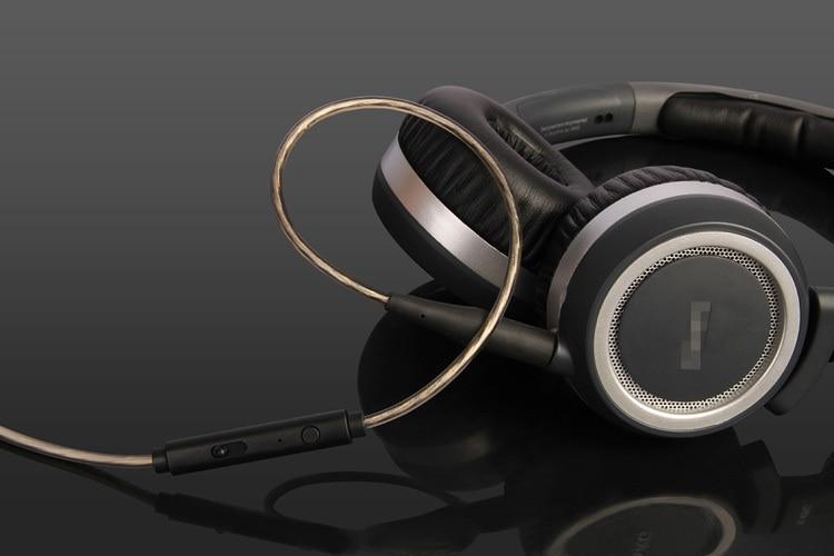bilder für Earmax Splitter Ersatz Audio Kabel Mic Fernbedienung Für * KG K450 K451 Q460 K452