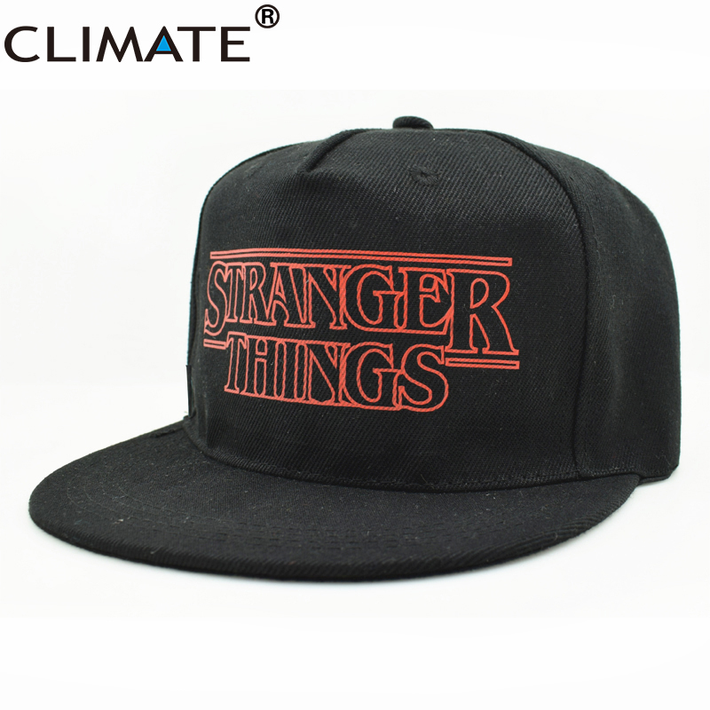 CLIMATE Dustin Stranger Things Snapback Caps Hat Beanie Youth Cool Snapback Adjustable Caps Hat For Men Women Teenagers Youth beanie beanie cartoon animal hat white kitty pink bow hat children caps skullies