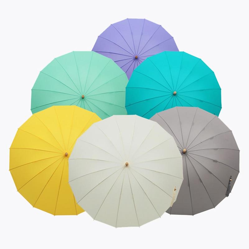 Bamboo Windproof Umbrellas Windproof 3