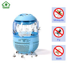 Home Electronic Mosquito Killer Lights Ultra Silent Inhalant LED Mosquito Killer Lamp USB Charged Trap for Bug Zapper Fly Pest