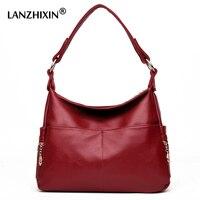 Lanzhixin женские сумки мессенджеры для женщин кожаные сумочки сумки через плечо женские дизайнерские сумки через плечо Tote op handle сумки 990