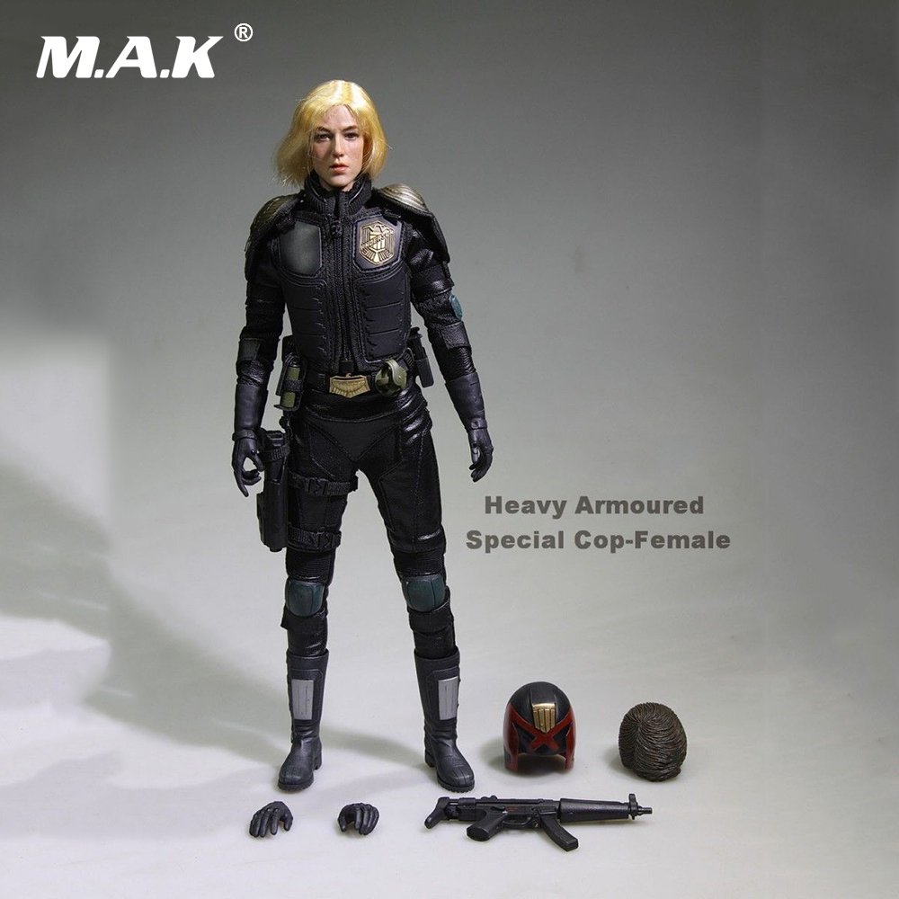 Children Gifts Collections 1/6 Scale Female Figure Heavy Armoured Special Cop-Female Model Toys
